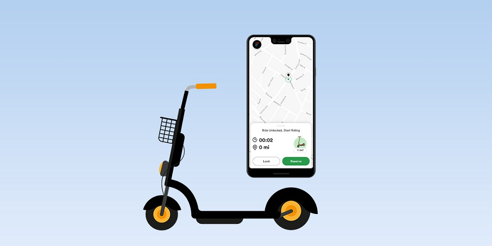 E-Scooter with IoT Enabled App