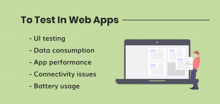 What to test in web apps