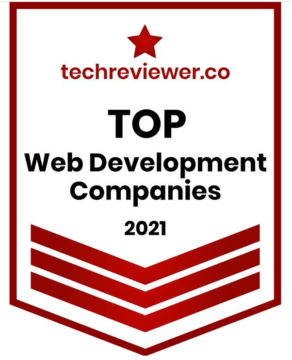 Top web development company in 2021 by Techreviewer