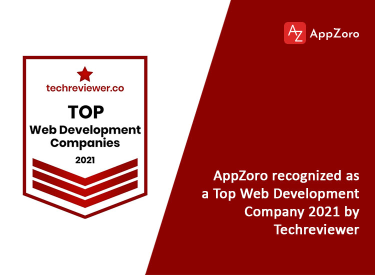 Top web development company in 2021 by Techreviwer