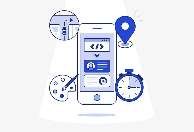 flexibility in mobile app