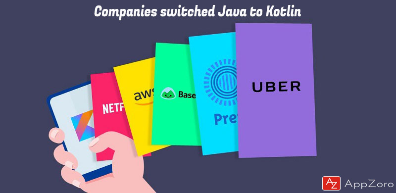 Major Companies who switch apps from Java to Kotlin