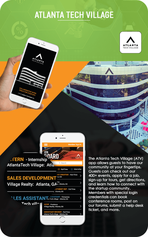 Atlanta Tech Village Mobile App