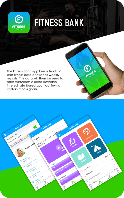 Mobile App of Fitness Bank