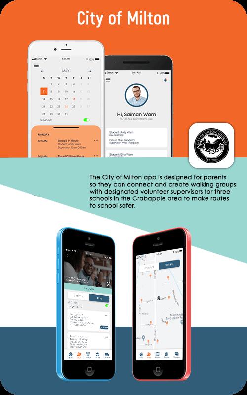 City of Milton Mobile App