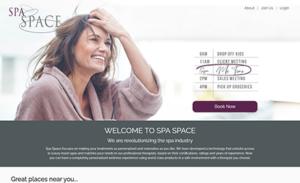 Spa Space Web App