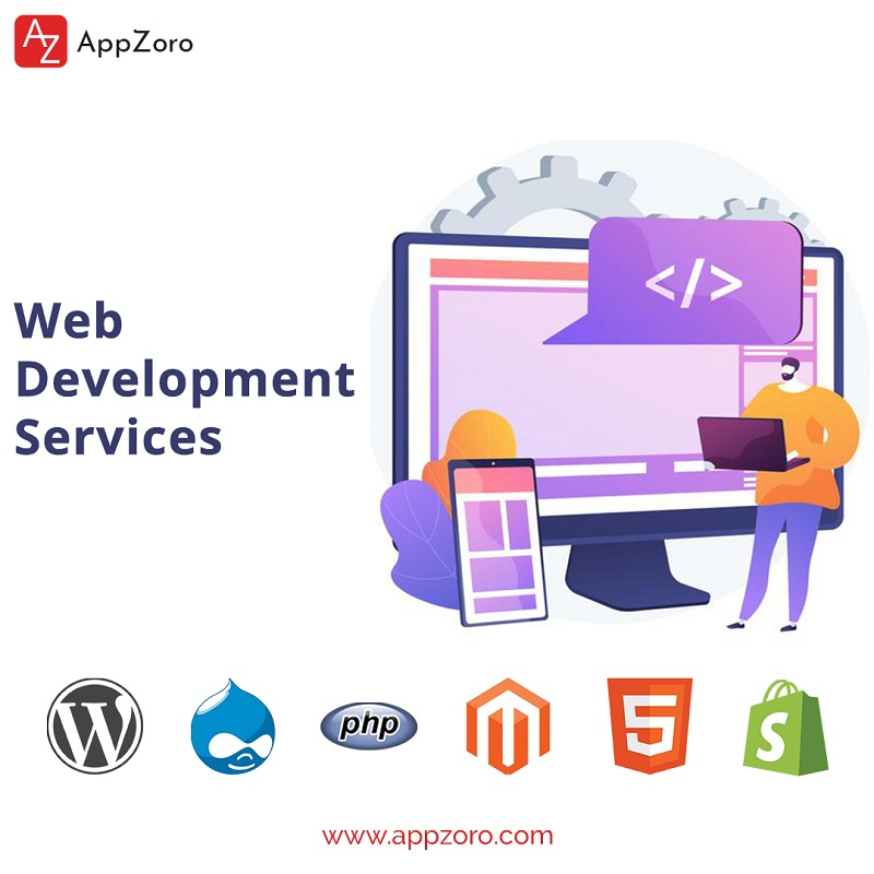 Web development services by appzoro