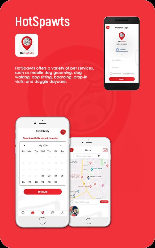 hotspawts mobile app